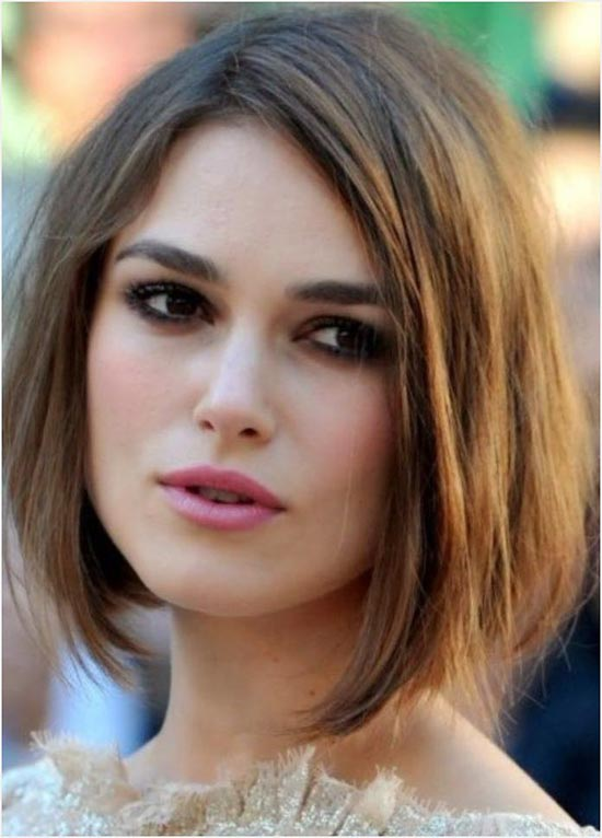 Keira Knightley Bob Haircuts for Fine Hair