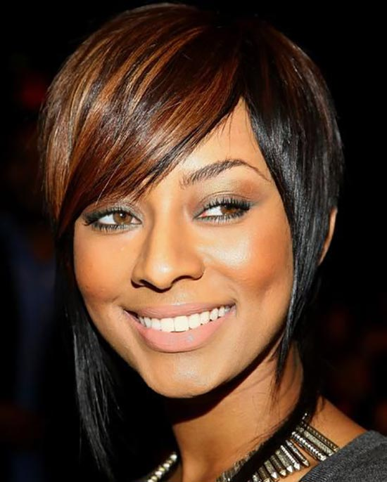 Keri Hilson Inverted Bob Haircuts