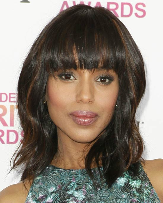 Kerry Washington Bob Haircuts for Fine Hair