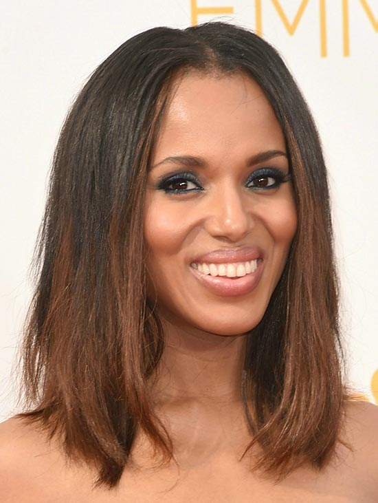 Kerry Washington Long Bob Hairstyles