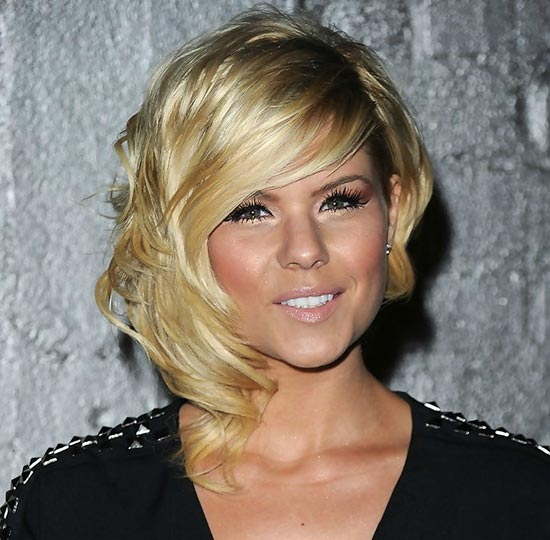 Kimberly Caldwell Inverted Bob Haircuts
