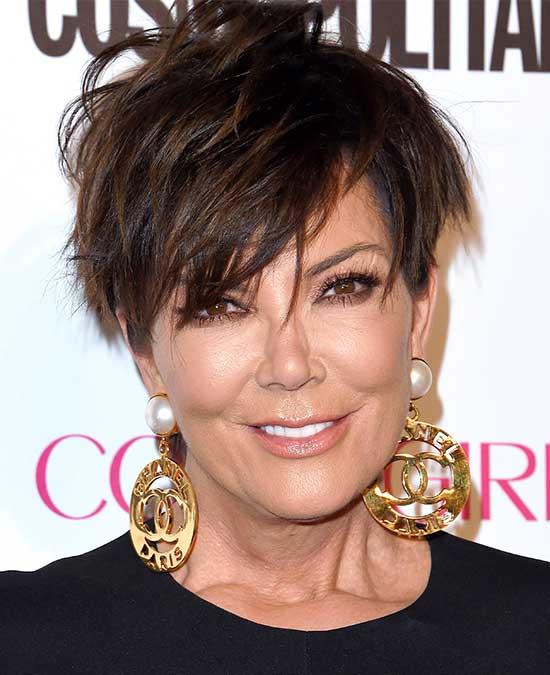 Kris Jenner Graduated Bob Haircuts