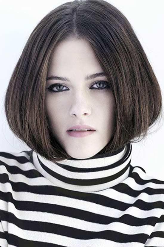 Kristen Stewart Blunt Bob Hairstyles