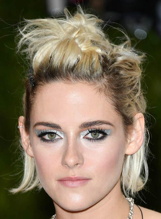 Kristen Stewart Messy bob haircuts
