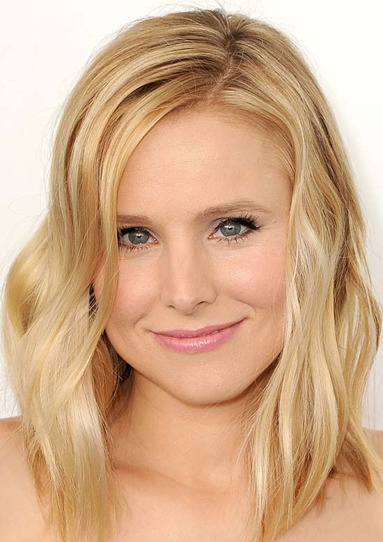Kristen bell Medium Blonde Hairstyles