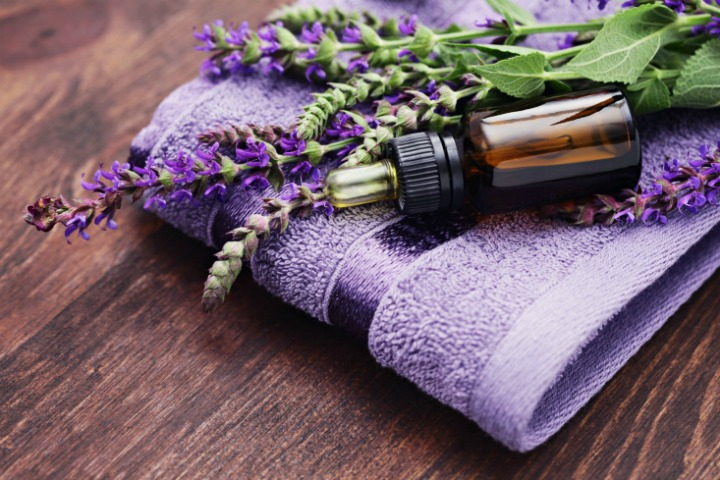 clary sage essential oil for hair loss