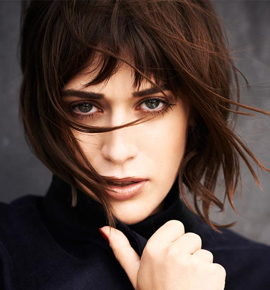 Lizzy Caplan Medium Red Hairstyles