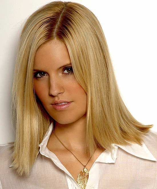 Maggie Grace Long Bob Hairstyles