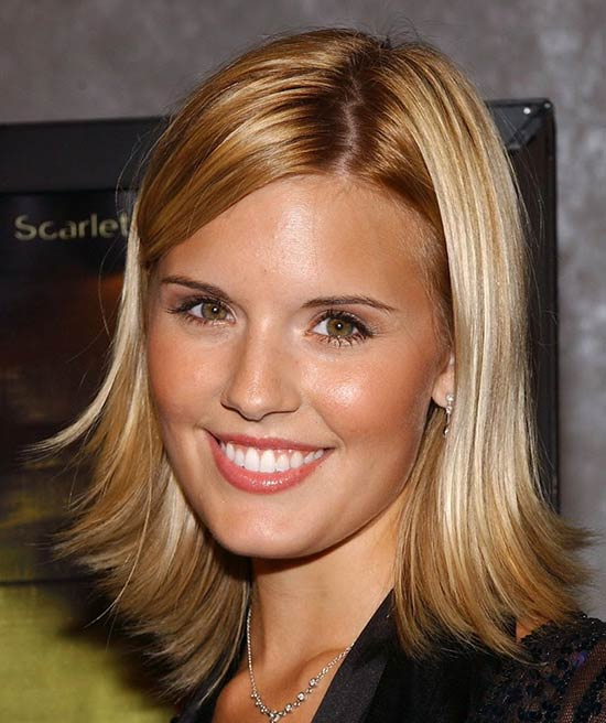 Maggie Grace Medium Bob Hairstyles