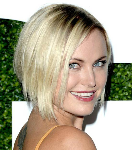 Malin Akerman Choppy Bob Hairstyles