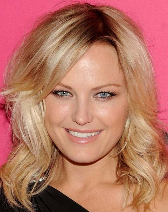 Malin Akerman Medium Curly Hairstyles