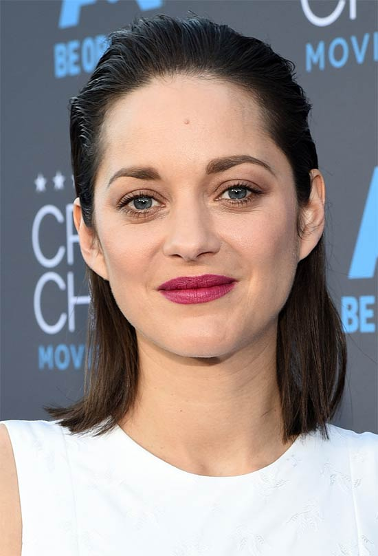 Marion Cotillard Medium Straight Hairstyles