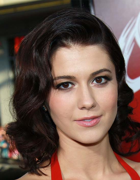 Mary Elizabeth Winstead Medium Curly Hairstyles