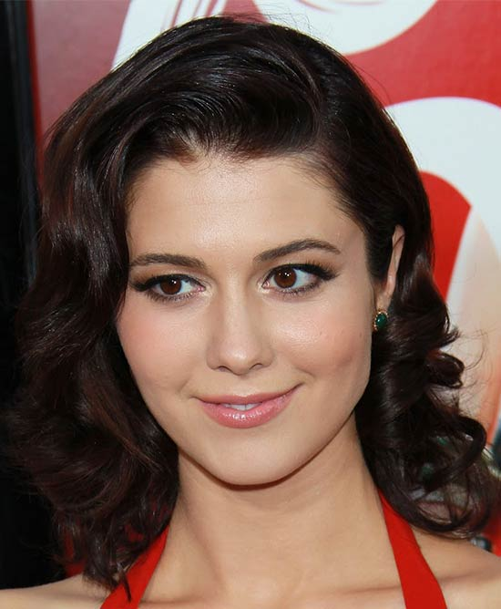 Mary Elizabeth Winstead Medium Layered Haircuts