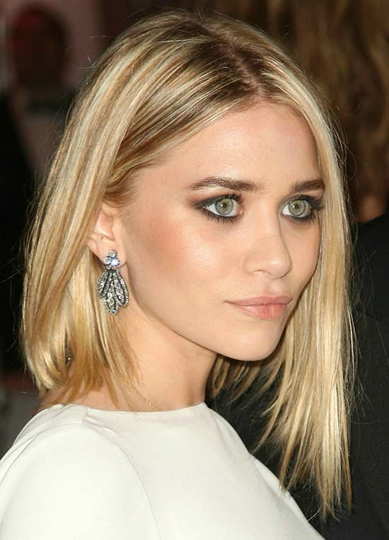 Mary Kate Olsen Long Bob Hairstyles