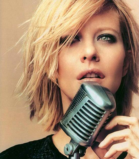 Meg Ryan Choppy Bob Hairstyles