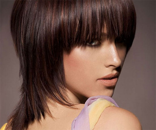 Megan Fox Medium Shag Haircuts