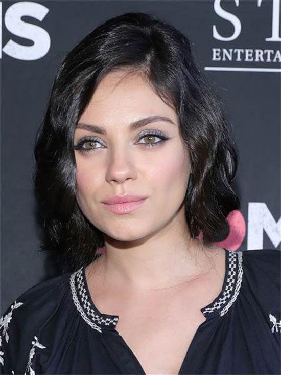 Mila Kunis Messy bob haircuts