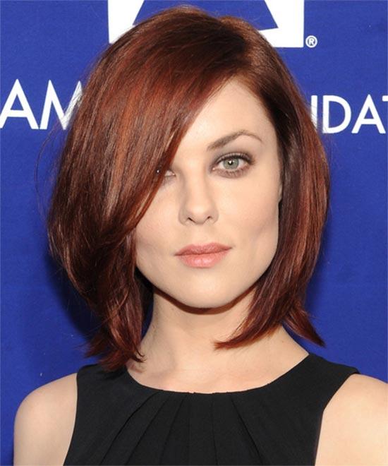 Medium Red Hairstyles