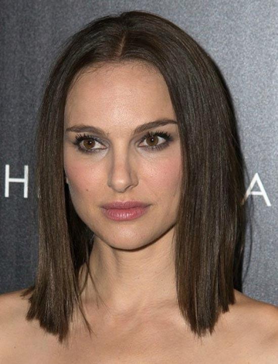 Natalie Portman Blunt Bob Hairstyles