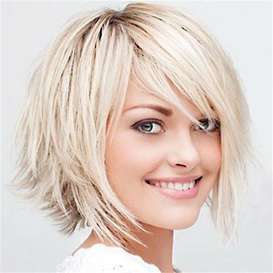 Natalie-Portman Choppy Bob Hairstyles