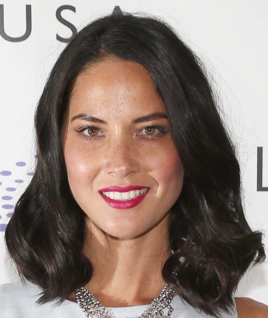 Olivia Munn Medium Curly Hairstyles