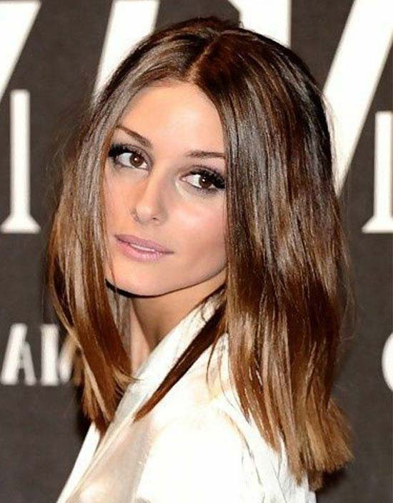 Olivia Palermo Medium Straight Hairstyles