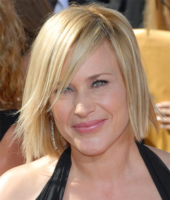 Patricia Arquette Medium Length Hairstyles for Thin Hair