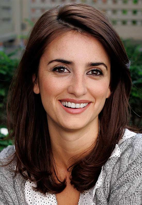 Penelope Cruz Medium Hairstyles for Women