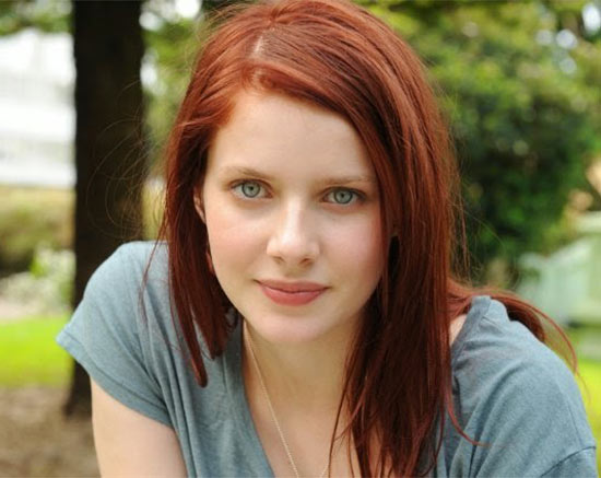 Rachel Hur Wood Medium Red Hairstyles