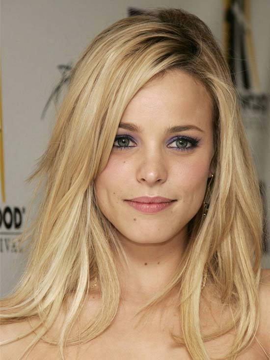 Rachel McAdams Medium Blonde Hairstyles
