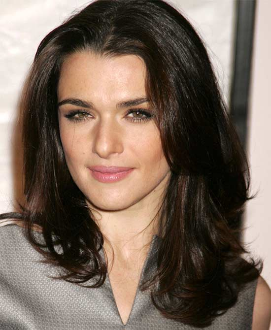 Rachel Weisz Medium Hairstyles for Women