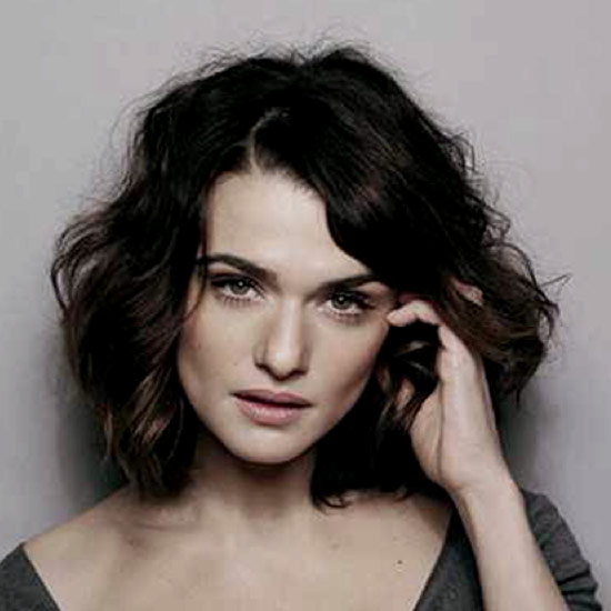 Rachel Weisz Medium Shag Haircuts