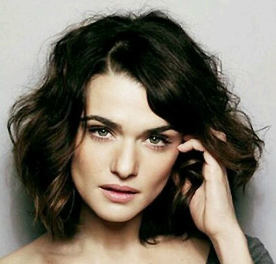 Rachel Weisz Messy bob haircuts
