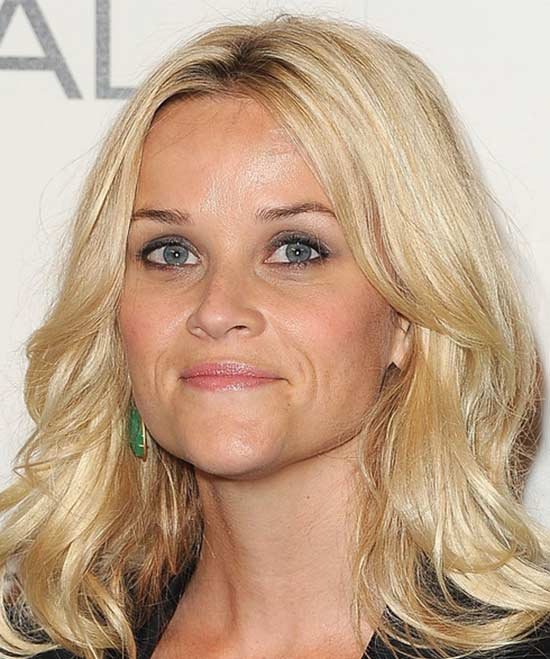 Reese Witherspoon Medium Length Haircuts for Thick Hair