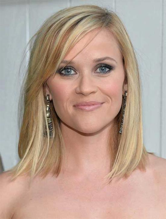 Reese Witherspoon Medium Straight Hairstyles