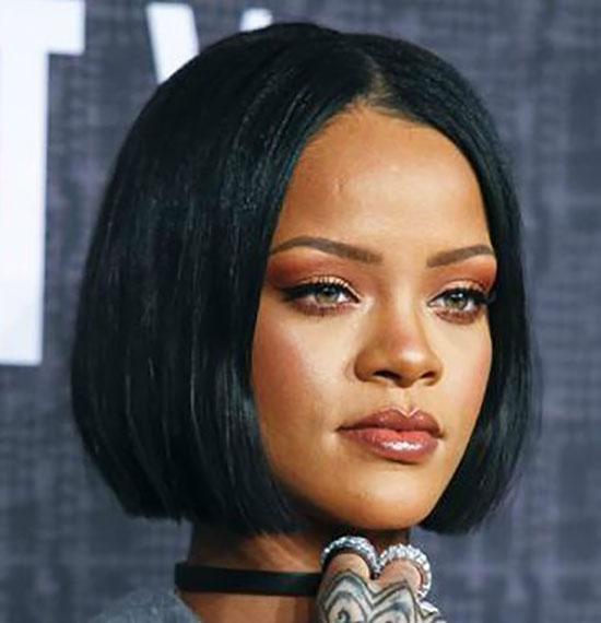 Rihanna Blunt Bob Hairstyles
