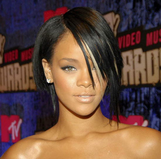 Rihanna Graduated Bob Haircuts