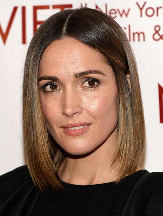 Rose Byrne Medium Length Hairstyles for Thin Hair