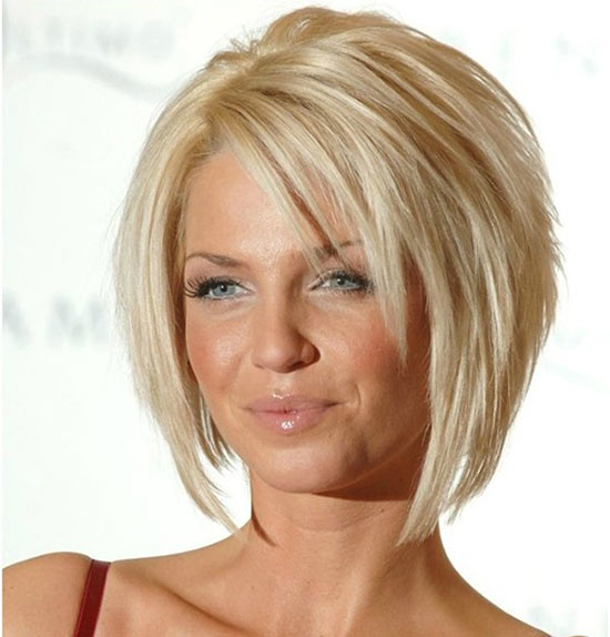 Sarah Harding Layered Bob HairStyles
