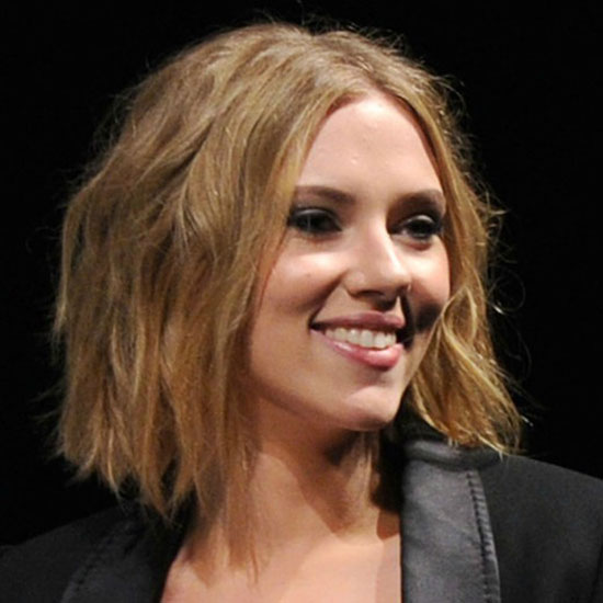 Scarlett Johansson Blunt Bob Hairstyles