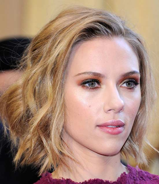 Scarlett Johansson Medium Bob Hairstyles