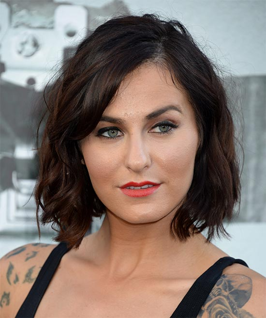 Scout Taylor-Compton Medium Layered Haircuts