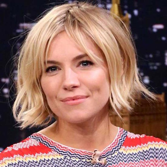 Sienna Miller Bob Haircuts for Fine Hair