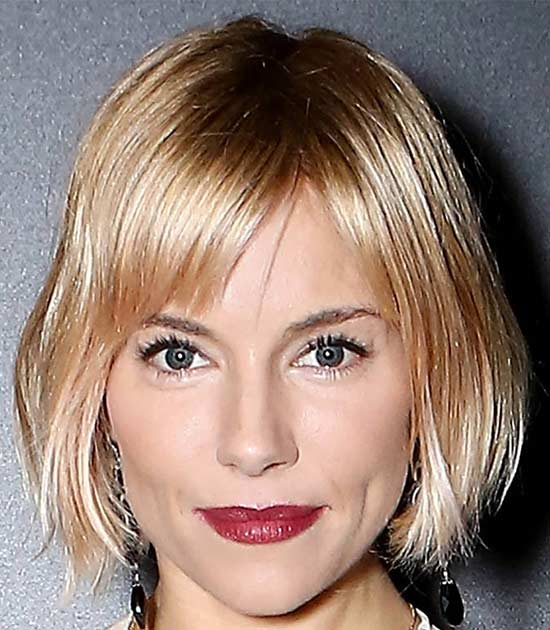 Sienna Miller Medium Bob Hairstyles