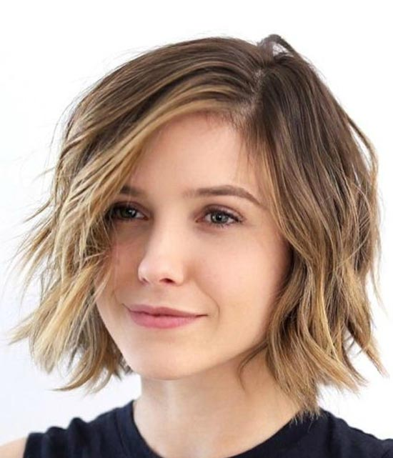 Sophia Bush Choppy Bob Hairstyles