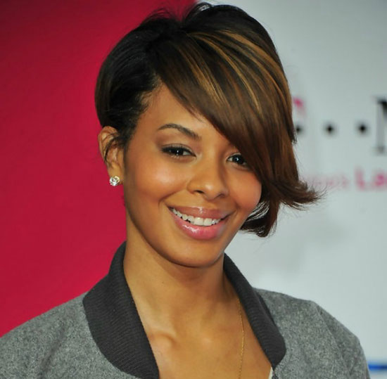 Vanessa Simmons Inverted Bob Haircuts