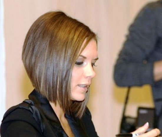 Victoria Beckham Graduated Bob Haircuts
