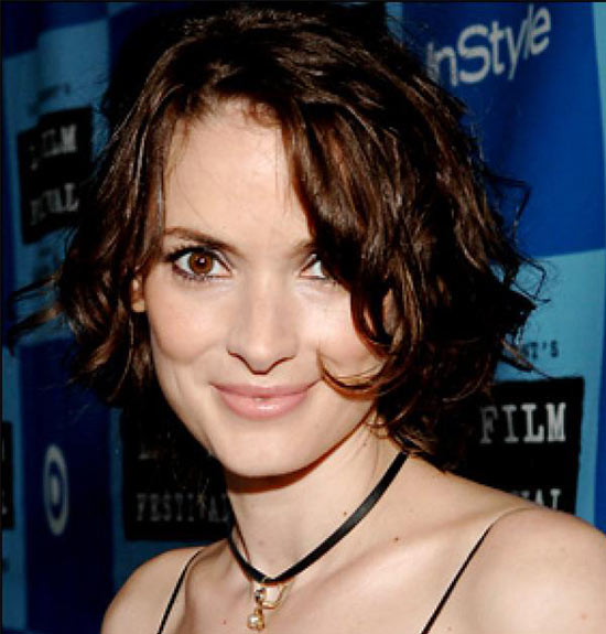 Winona Ryder Inverted Bob Haircuts