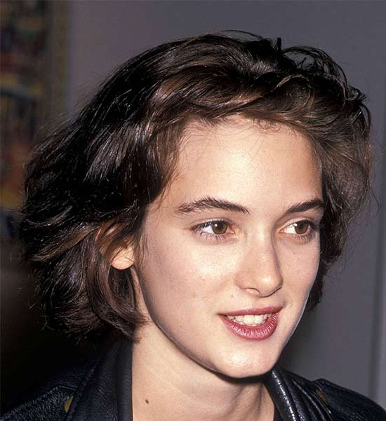 Winona Ryder Medium Hairstyles for Women